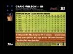 2007 Topps #392  Craig Wilson  Back Thumbnail