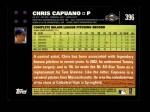 2007 Topps #396  Chris Capuano  Back Thumbnail
