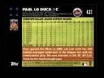 2007 Topps #437  Paul LoDuca  Back Thumbnail
