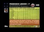 2007 Topps #449  Francisco Liriano  Back Thumbnail