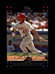 2007 Topps #453  Howie Kendrick  Front Thumbnail