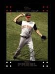 2007 Topps #566  Ryan Freel  Front Thumbnail