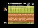 2007 Topps #585  Willie Bloomquist  Back Thumbnail