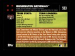 2007 Topps #593   Washington Back Thumbnail