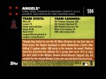 2007 Topps #594   Los Angeles Angels Back Thumbnail