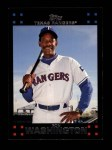 2007 Topps #606  Ron Washington  Front Thumbnail