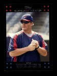 2007 Topps #611  Eric Wedge  Front Thumbnail