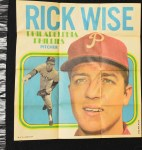 1970 Topps Poster #8  Rick Wise     Front Thumbnail