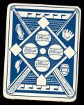 1951 Topps Blue Back #11  Johnny Groth      Back Thumbnail