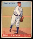 1933 Goudey #157  Sammy Byrd  Front Thumbnail