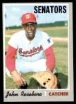 1970 Topps #655  John Roseboro  Front Thumbnail