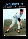 1971 Topps #736  Mel Queen  Front Thumbnail