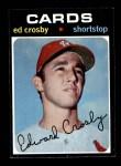 1971 Topps #672  Ed Crosby  Front Thumbnail