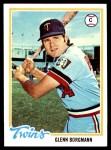 1978 Topps #307  Glenn Borgmann  Front Thumbnail