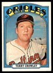 1972 Topps #628  Terry Crowley  Front Thumbnail