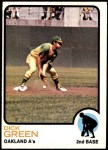 1973 Topps #456  Dick Green  Front Thumbnail