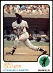 1973 Topps #333  Gene Clines  Front Thumbnail