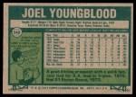 1977 Topps #548  Joel Youngblood  Back Thumbnail