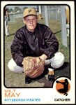 1973 Topps #529  Milt May  Front Thumbnail