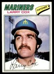 1977 Topps #379  Larry Cox  Front Thumbnail