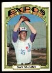 1972 Topps #473  Dan McGinn  Front Thumbnail