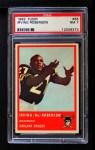 1963 Fleer #58  Bo Roberson  Front Thumbnail
