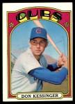 1972 Topps #145  Don Kessinger  Front Thumbnail