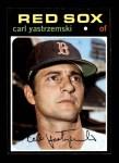 1971 Topps #530  Carl Yastrzemski  Front Thumbnail