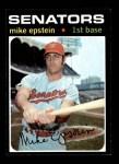 1971 Topps #655  Mike Epstein  Front Thumbnail