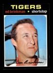 1971 Topps #389  Ed Brinkman  Front Thumbnail