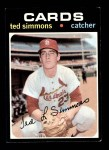 1971 Topps #117  Ted Simmons  Front Thumbnail
