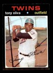 1971 Topps #290  Tony Oliva  Front Thumbnail