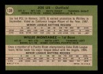 1971 Topps #138   -  Willie Montanez / Joe Lis Phillies Rookies Back Thumbnail