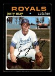 1971 Topps #719  Jerry May  Front Thumbnail