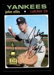 1971 Topps #263  John Ellis  Front Thumbnail
