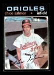 1971 Topps #249  Chico Salmon  Front Thumbnail