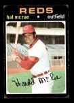 1971 Topps #177  Hal McRae  Front Thumbnail