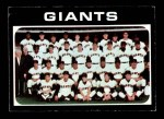 1971 Topps #563   Giants Team Front Thumbnail