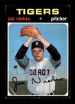 1971 Topps #695  Joe Niekro  Front Thumbnail