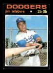1971 Topps #459  Jim LeFebvre  Front Thumbnail