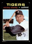 1971 Topps #524  Mickey Stanley  Front Thumbnail