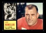 1962 Topps #159  Leo Nomellini  Front Thumbnail