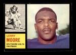 1962 Topps #2  Lenny Moore  Front Thumbnail