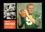 1962 Topps #115  Sonny Jurgensen  Front Thumbnail