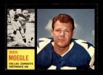 1962 Topps #47  Dick Moegle  Front Thumbnail