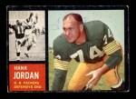 1962 Topps #72  Hank Jordan  Front Thumbnail