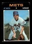 1971 Topps #751  Al Weis  Front Thumbnail