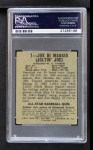 1948 Leaf #1  Joe DiMaggio  Back Thumbnail
