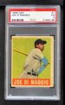 1948 Leaf #1  Joe DiMaggio  Front Thumbnail