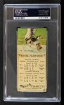 1911 T201 Mecca  Chief Bender / Rube Oldring  Back Thumbnail